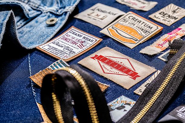 Marquillas textiles